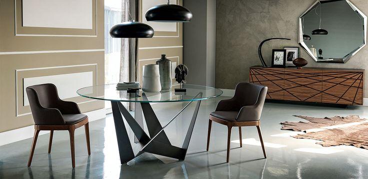 Cattelan Italia Skorpio Round table by Andrea Lucatello