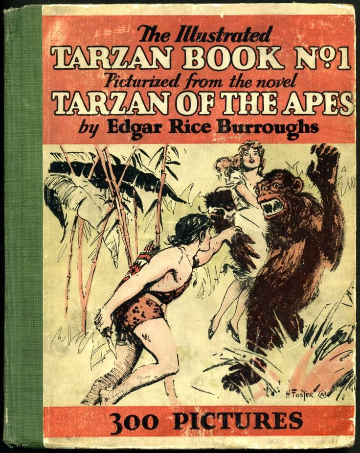 Hal Foster  1892 ~ 1982  The Tarzan Dailies  Syndicated by Metropolitan Newspaper Service ~ Jan-Feb/1929  First reprinted as The Illustrated Tarzan Book #1  Published by Grosset & Dunlap ~ 1929