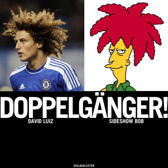 David Luiz vs Sideshow Bob