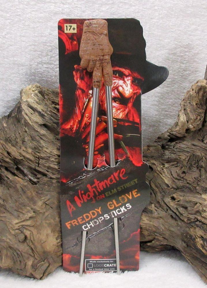 Loot Crate A Nightmare on Elm Street Freddy Glove Chopsticks