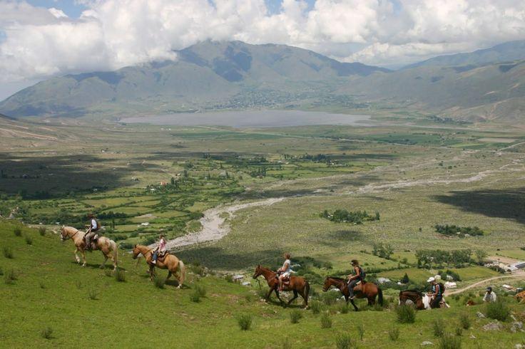 Horse riding in Tafí del Valle (Tucumán)