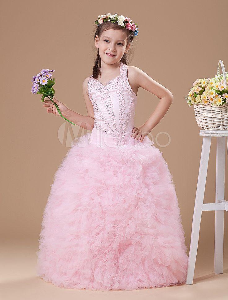 #Milanoo.com Ltd          #Girls Pageant Dresses    #Pink #Halter #Floor-Length #Ruffles #Ball #Gown #Girls #Pageant #Dress       Pink Halter Floor-Length Ruffles Ball Gown Girls Pageant Dress                                          http://www.snaproduct.com/product.aspx?PID=5681391