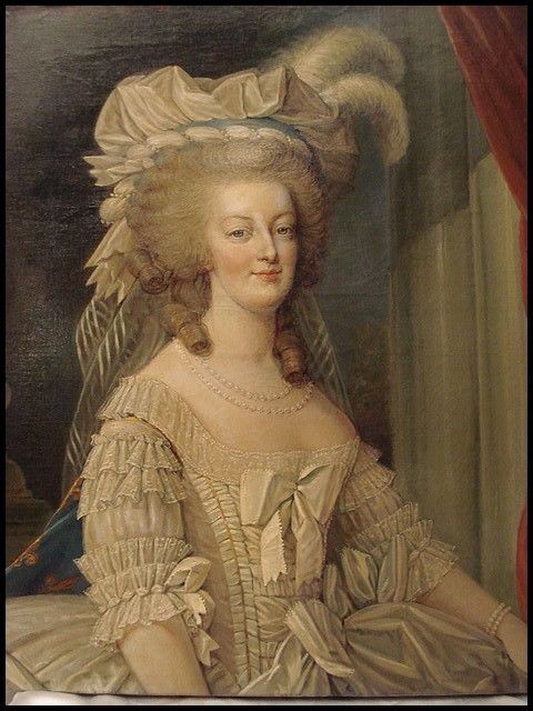 THE REAL PLAYERS:THE ONE AND ONLY! Portrait of Marie Antoinette, circa 1870