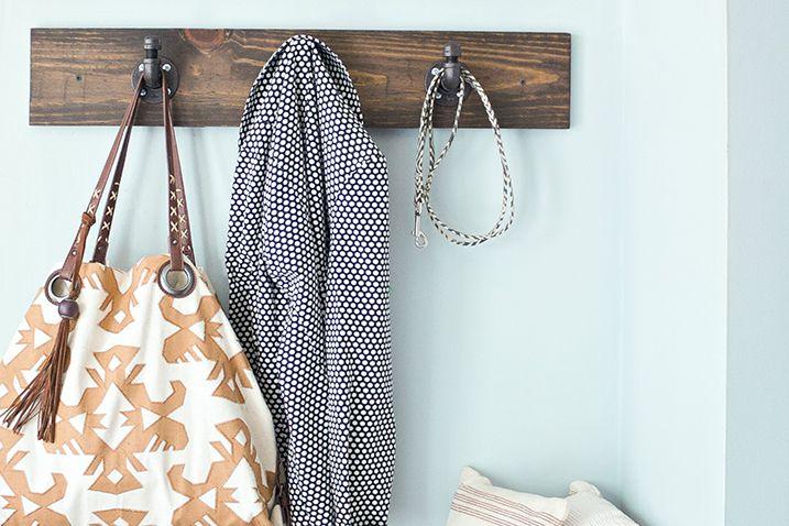 Best 25+ Wall mounted coat rack ideas on Pinterest   Wall ...