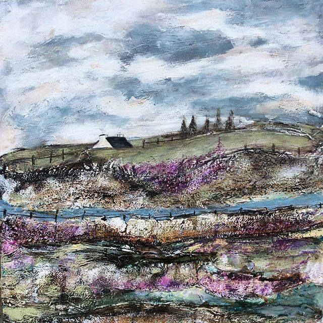 A patchwork of heather by Louise O'Hara