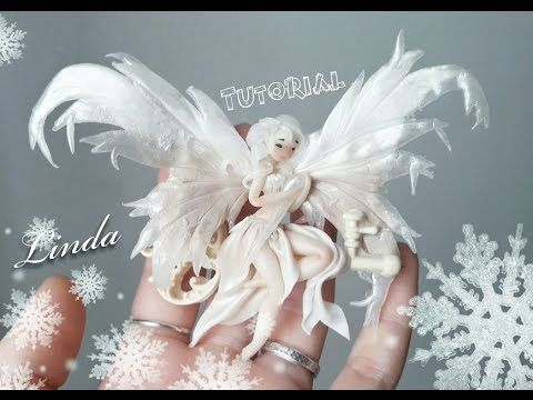 Tutorial//fatina dei ghiacci  // Gelida polimerclay - YouTube