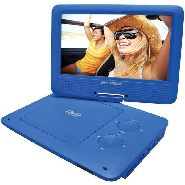 "Sylvania Sdvd9020B-Blue 9"" Portable Dvd Players With 5-Hour Battery (Blue)"