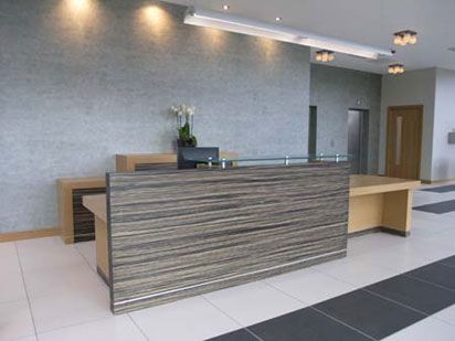 Chic Order Reception Desk C Lowry Office Pinterest