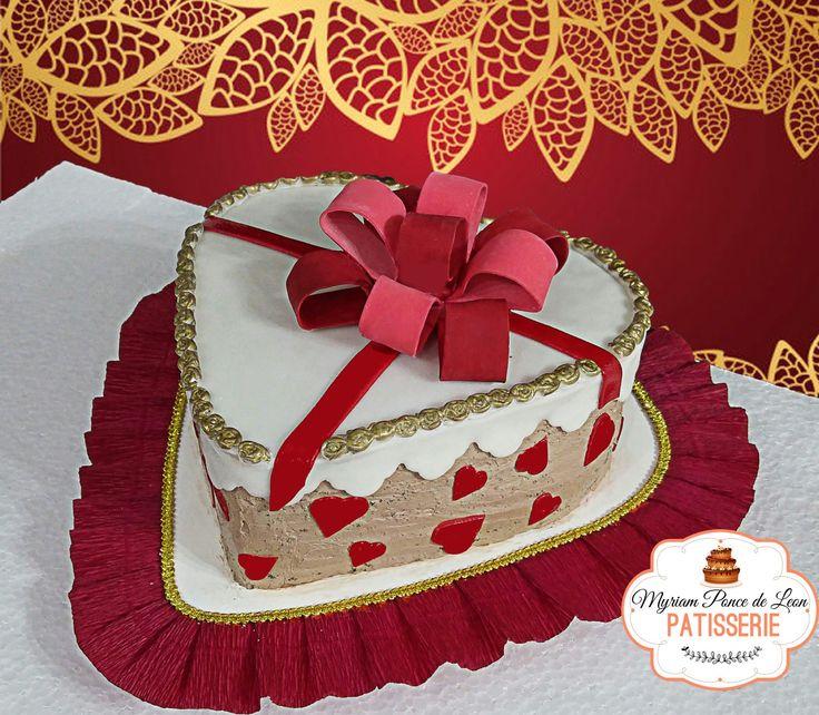 Torta San Valentín