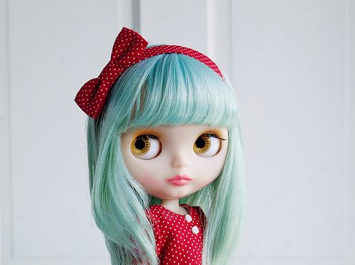 Blythe dolls.  I want to design and sew cute outfits and have little fashion photo shoots, is that weird?  Would probably freak out the husband. Lol.