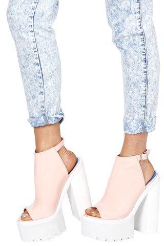 155 best Shoes images on Pinterest | Chunky platform heels ...