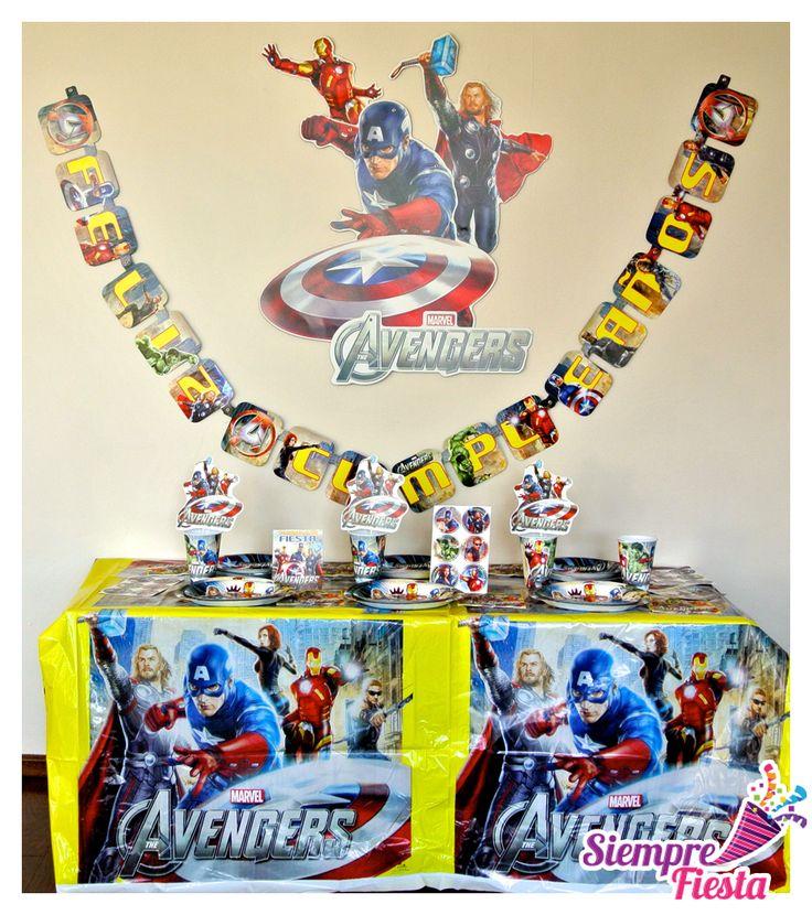 17 mejores im genes sobre fiesta de avengers en pinterest - Accesorios de cumpleanos infantiles ...