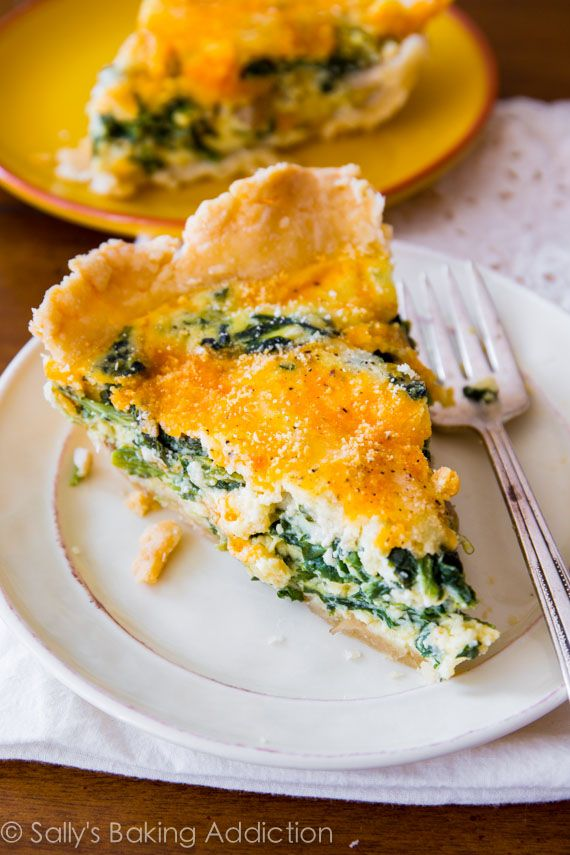 This cheesy spinach quiche would be delicious on Christmas morning. For more holiday ideas, connect with us on Pinterest or visit us at www.myuglychristmassweater.com!