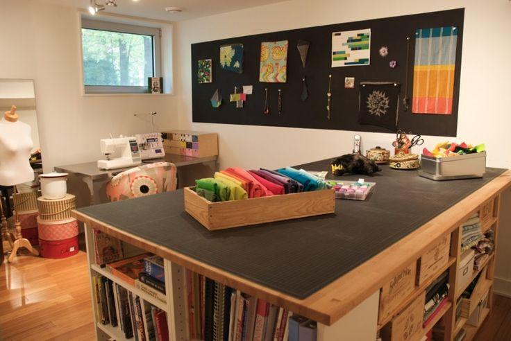 Mon atelier - my workshop