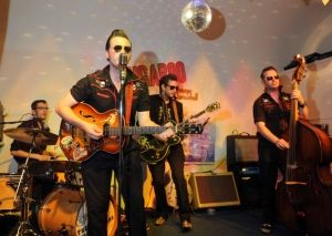 Local band Doug Perkins and the Spectaculars have been given top billing on a line-up, including household names Dave Spikey, Steve Royle pl...