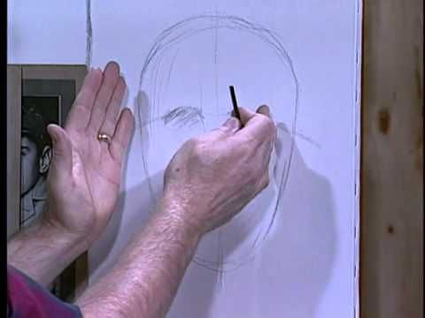 Jerry Yarnell teaches facial proportions - YouTube