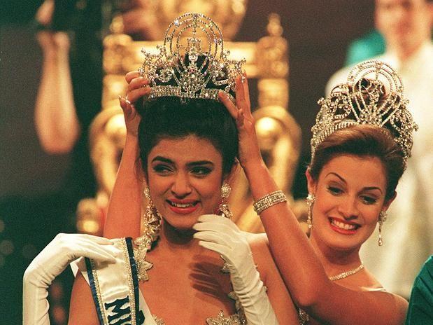 1994 Miss Universe Sushmita Sen of India.
