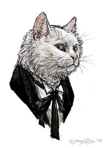 Doctor Who Cat - The First Doctor - All Eleven regenerations