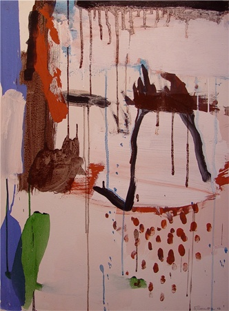 Ann Thomson: represented artist at Tim Olsen Gallery.