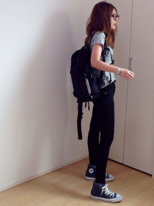 UNIQLOのTシャツ・カットソーを使ったmayumiのコーディネートです。WEARはモデル・俳優・ショップスタッフなどの着こなしをチェックできるファッションコーディネートサイトです。