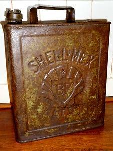 Vintage Shellmex Oil Can