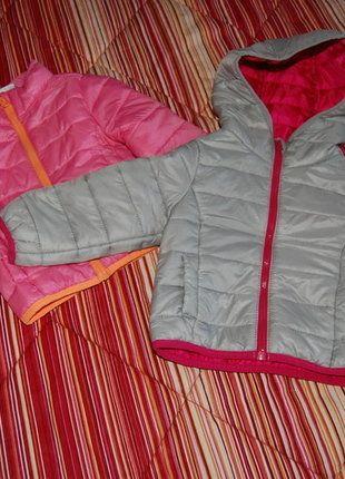 Kaufe meinen Artikel bei #Mamikreisel http://www.mamikreisel.de/kleidung-fur-madchen/outdoorbekleidung-jacken/32283588-zwei-steppjacken
