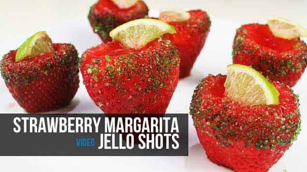 Australia Day - Strawberry Margarita Jello Shots