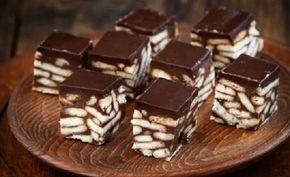 Πανεύκολα σοκολατένια κυβάκια με μπισκότα με 3 μόνο υλικά   από το sintayes.gr