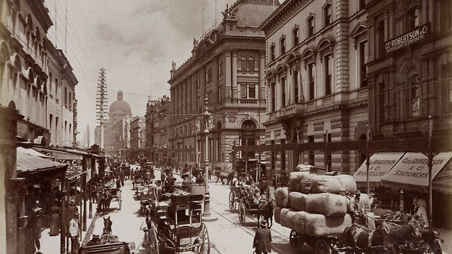 Photo: George Street, Sydney 1900