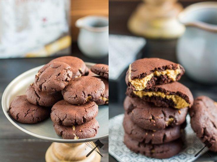 Schoko Erdnussbutter Cookies 4