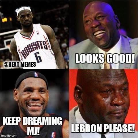HAHA MJ Credit: Heat Memes - http://weheartokcthunder.com/nba-funny-meme/haha-mj-credit-heat-memes