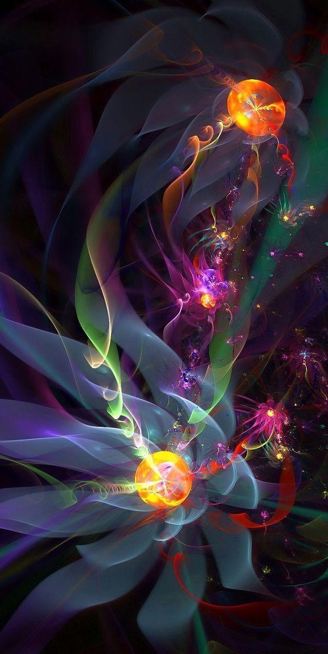 Fond D Ecran Huawei Decran Fond Huawei Fractal Art Colorful Art Psychedelic Art