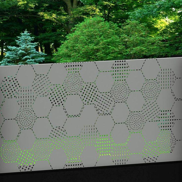 HexoHexo 2210 silver tixxy infill panel