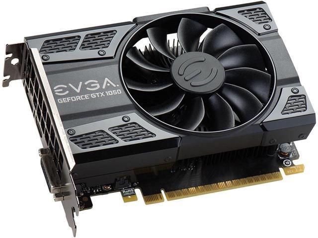 EVGA GeForce GTX 1050 SC GAMING 2 GB 128-Bit GDDR5 PCI-Express 3.0 Video Card  Free Nvidia PC Game for $99.99 A...