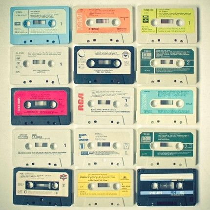 cassettes, colorful, vintage, tapes, music, songs, players, lyrics