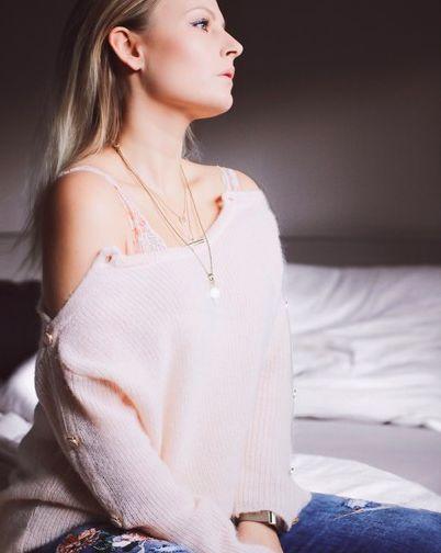 ♥♥♥ Outfit Inspiration - Kuschelpullover - Winter Outfit - Damen Mode - Sezane ♥♥♥ #mode #outfit #pulli #sezane
