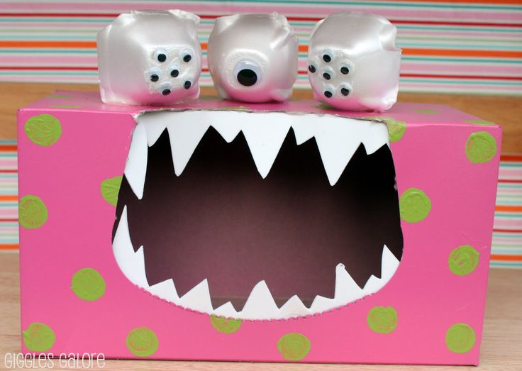 Make this DIY Tattle Monster by Giggles Galore and help teach your kids to stop tattling and learn the value of problem solving.