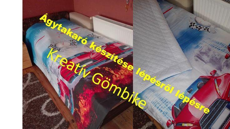 Ágytakaró készítése - Csináld magad
