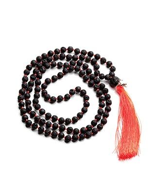 fluro orange lava necklace $69
