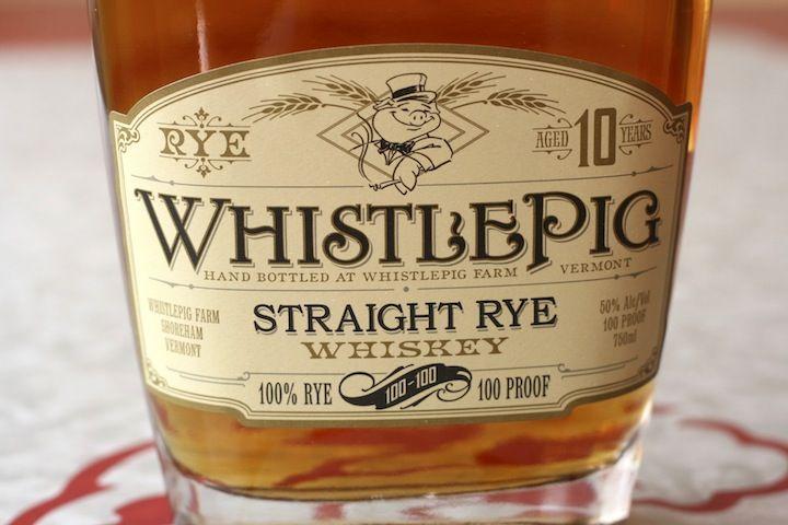 Whistle Pig Straight Rye Whiskey | package design | Pinterest
