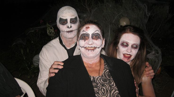 Some Seriously scary People.....Jack Skellington, ZombieGirl