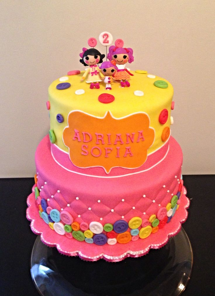 Lalaloopsy - Lalaloopsy Birthday Cake  Party Ideas  Pinterest