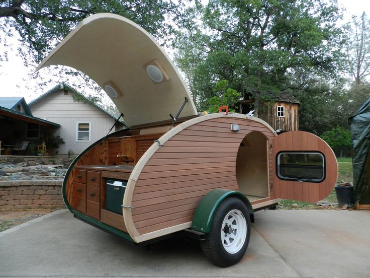 Ed's Teardrop Trailer Project