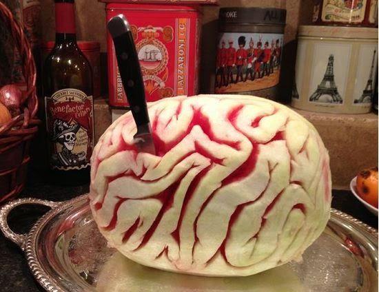 Watermelon Brain Recipe + Halloween Food Recipes Cookbook – GimmieFreebies