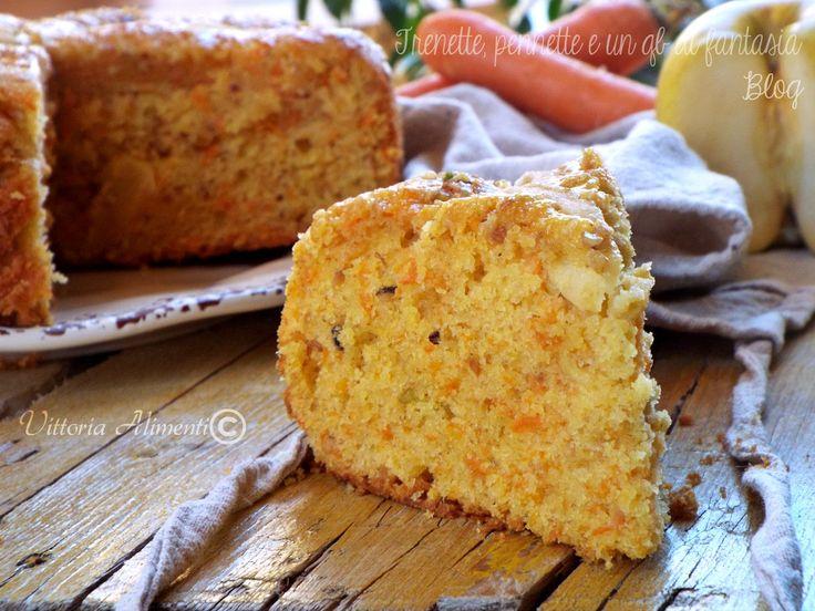 La Torta di carote e mela senza burro è un dolce morbido dal sapore delicato ma nello stesso tempo ricco e goloso. Il dolce casalingo perfetto da....