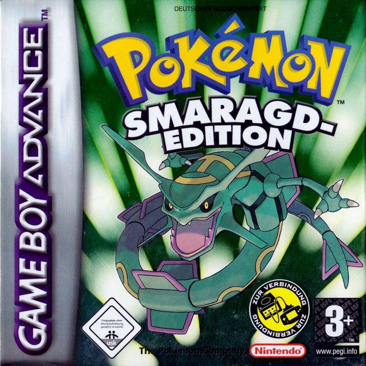 Pokémon Emerald Version 2004 Game Boy Advance box cover art  MobyGames