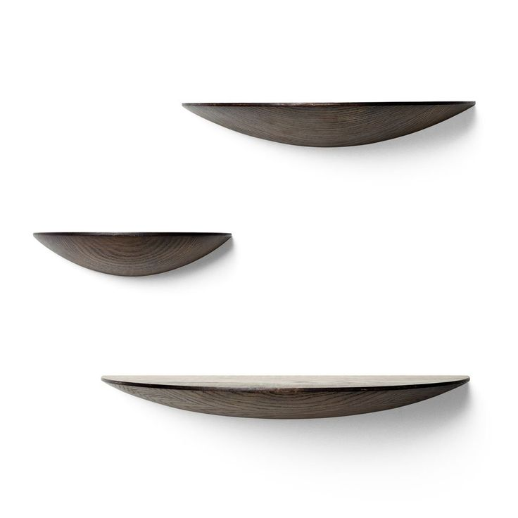 Danish made wooden shelves.  http://www.lannamobler.se/sv/hyllor-och-vagghyllor/menu-hylla-gridy-fungi-shelf-mork-ask