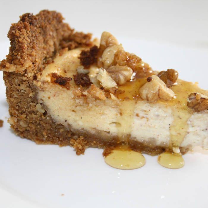 Honungscheesecake ala Stina