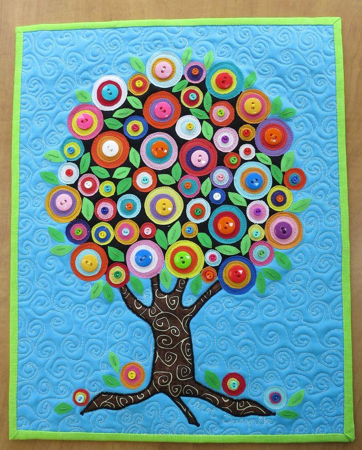 труд открытка дерево из пуговиц своими деяких закладах потрібно