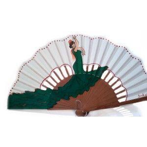 Abanico flamenca modelo rita la bailaora